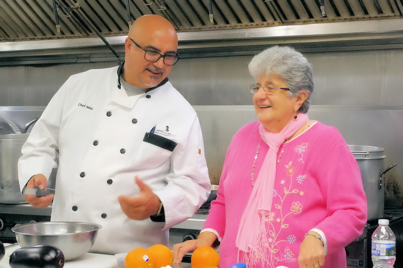 Chef Nino and Rosalie Ranieri