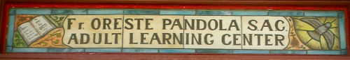 Pandola Learning Center Stained Glass